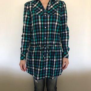 Women's Puma Button-app Tunic, Size Medium